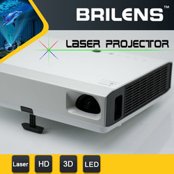 Brilens LS1280 Vicky DLP laser LED 50000 hours hd shutter 3d 3800 lumens cell phone projector verizon/3d polarized projector