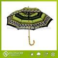 2015 paraguas de bambu de paja, asa de bambú paraguas