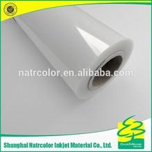 330mm PET Waterproof Transparent Film for Inkjet printing