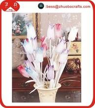 White steam smile artificial flower wholesale