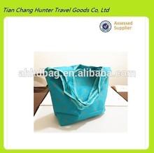 hot popular leisure folding promotional bags/reusable foldable shopping bag