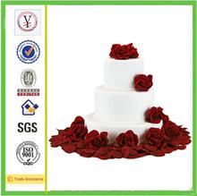 china factory ODM & OEM fashion high quality polyresin artificial wedding cake