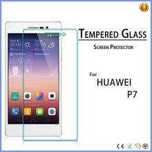 wholesale cell phone accessory Mirror Screen Protector for Huawei Ascend P7 Tempered Glass Screen Protector