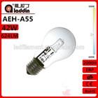 energy saving light bulb eco tungsten halogen bulb A55 42w with CE ROHS ERP