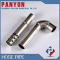 de acero inoxidable tubo flexible con el agujero