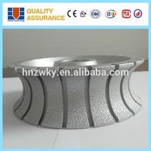 Good performance brazing technology concave diamond grinding wheel