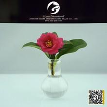 High end unique glass vase for flower arrangement