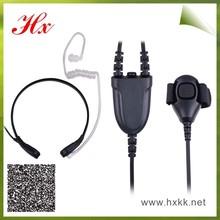 two way radio throat control kits sl 7550 ear piece