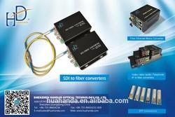 Hot sales 2 channel SDI fiber vedio digital converter;high defination