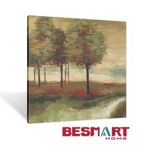 Pintado paisagens de lona