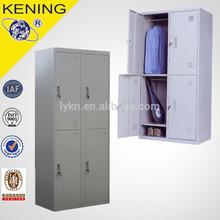 4 Compartments 2 Tiers Staff Locker