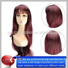 Top grade fashion style 100% Japan kanekalon hair long blue wigs