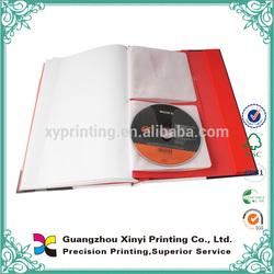 Thick OEM cheap design cheap vedio book