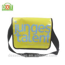 New arrival top sale made in china Tarpulin shoulder bag messenger bag postman bag