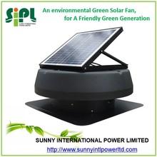 new innovative dc solar powered roof fan