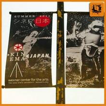 Shanghai factory light pole advertising banner printing for sale