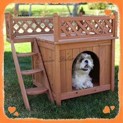 Solid wood new design hot sale dog kennel