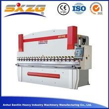 cnc hydraulic press brake / steel bending machine price
