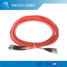 ST/UPC-ST/UPC 62.5/125 Duplex 3.0mm PVC 3.0M Patch Cord