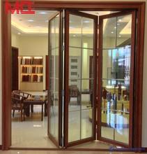 Double glazed Australian Standard Grill Insert Glass Folding Door