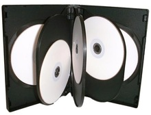 dvd case with swing tray which can pack several cd dvds