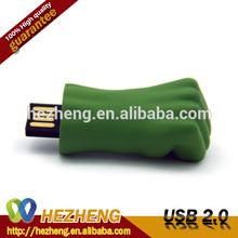 Waterproof Green Giant Fist USB Pen Drive 32GB