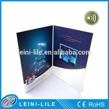 LED Light Music Greeting Card