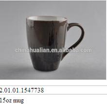2015 hot sale mug manufacturer, 15oz double wall coffee mug,magic mug birthday gift