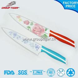High quality ceramic fillet knife set of fruit kitchen knife of ceramic knife