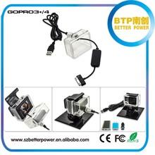 2015 brand new for gopro battery eliminator for hero 4 and hero 3+ cameras