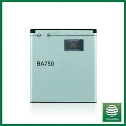 High capacity 1500mah BA750 battery For Sony Ericsson Arc S LT15 LT18 X12 batteries batterie bateria AKKU