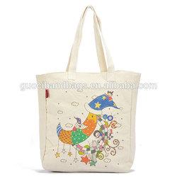 standard size plain canvas tote bag ,canvas shopping bag
