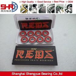 Backfire Bones Reds Bearings abec9 abec 11 Skate Bearings