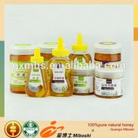 Flower honey plastic bottle honey exporter