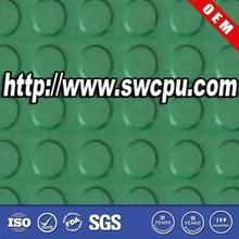 Coin dot gym anti slip rubber mat for flooring