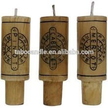 wine bottle candlle cork