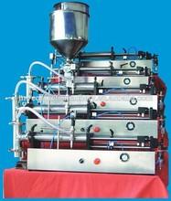 group filling machine horiztal machine