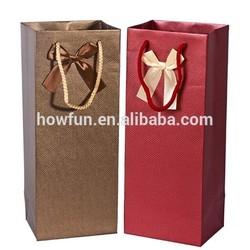 Special Swirl Mark Paper Wine Bag