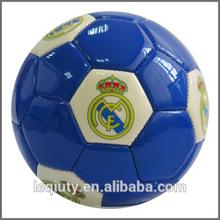 size 5 pvc cheapest price promotional soccer ball/ team logo football
