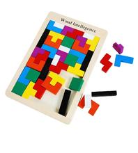 Puzzle Wooden tetris,Jigsaw puzzle