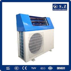 Auto defrost and more energy saving heat pump for home solar heating