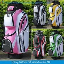 Custom New Design Nylon Material Golf Bags Manufacturer