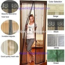 2015 new magnetic fly screen door curtains 18 magnets door mosquito nets