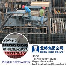 Material PP Plastic Reusable Plastic Building Formwork System for Concrete