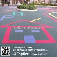 Recyclable Interlocking Floor Outdoor Sports Floors Outdoor Basketball Flooring