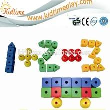 children creative Learn to Thread Beads