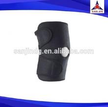 Compression neoprene knee support open patella knee brace injury prevention strap guard