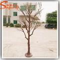 2015 China atacado branco artificial decorativa ramo de oliveira ramo de árvore artificial dry ramo de árvore decoração