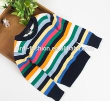 2015 fashion stripe colorful handmade teens young boys clothing