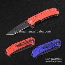 Folding Knife with Anodized Aluminum handle